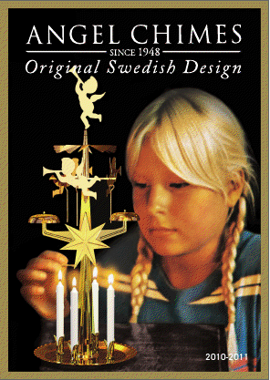 swedish design angel chime